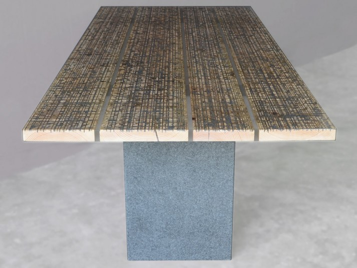 Alcarol Marble Ways Collection - Table Stone - P10B