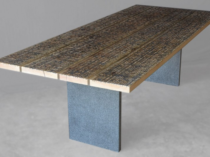 Alcarol Marble Ways Collection - Table Stone - P1B
