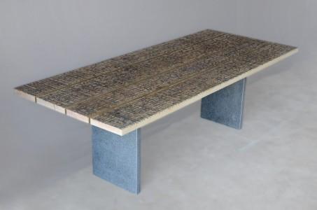 Marble Ways Table Stone Legs 5