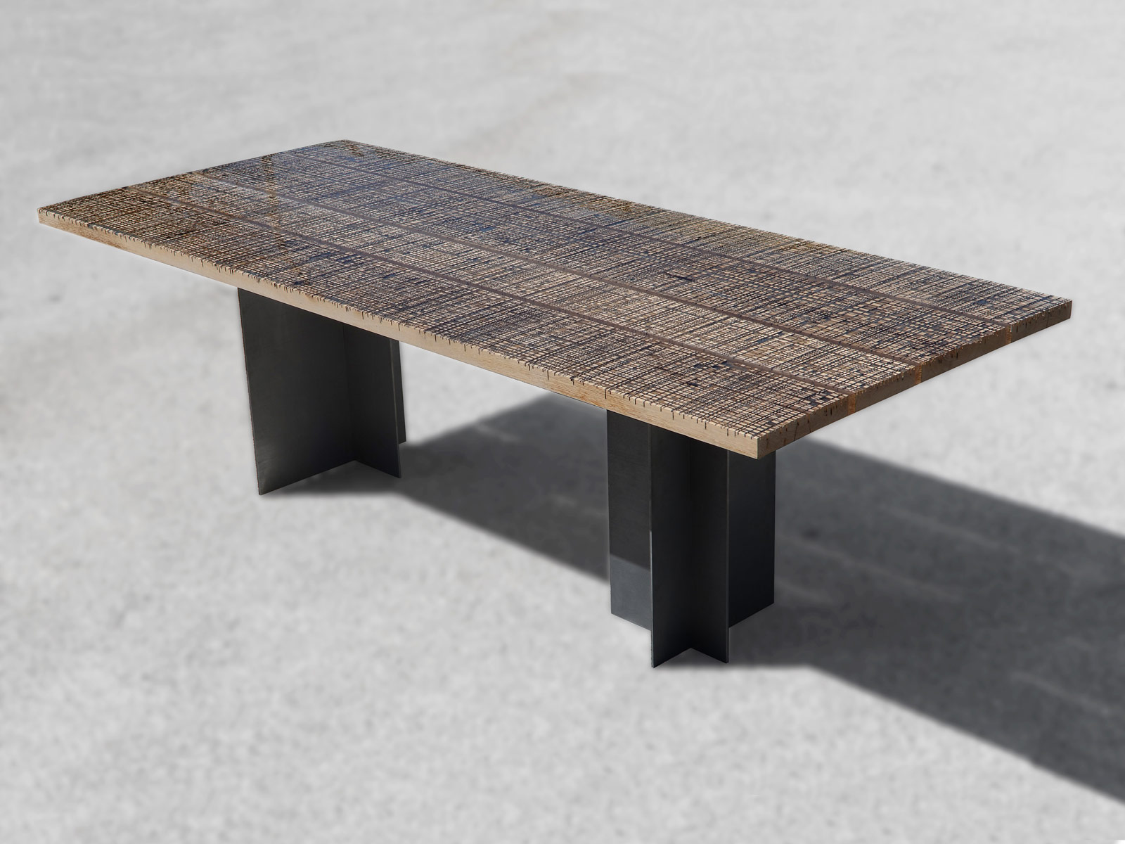 Dining Table Marble Ways Collection Alcarol - Bedrock marble dining table