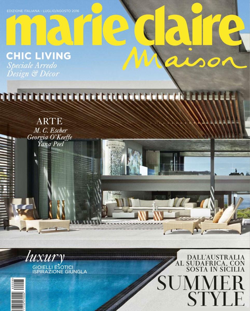 alcarol-Marieclaire-maison-Stump Stool-Luglio-Agosto-2016-cover