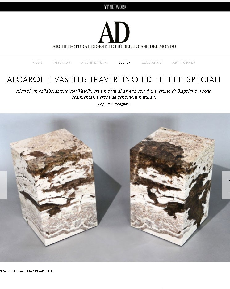 Architectural Digest front cover